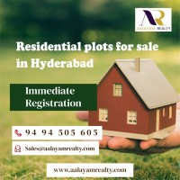 Open Plots and Villas for Sale in Hyderabad